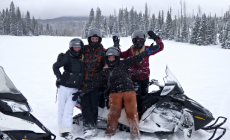 Safety Aspects to be kept in Mind when Snowmobiling with Family