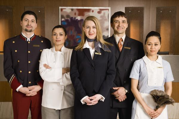 Uniforms in the Hospitality Industry